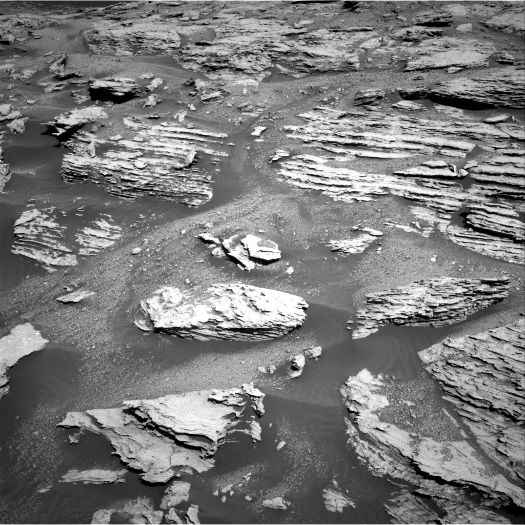 Nasa's Mars rover Curiosity acquired this image using its Right Navigation Camera on Sol 2582, at drive 1572, site number 77