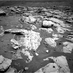 Nasa's Mars rover Curiosity acquired this image using its Right Navigation Camera on Sol 2582, at drive 1578, site number 77