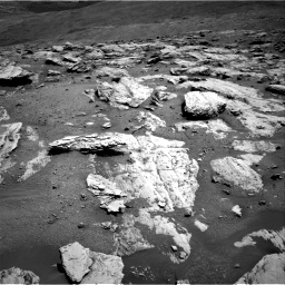 Nasa's Mars rover Curiosity acquired this image using its Right Navigation Camera on Sol 2582, at drive 1584, site number 77