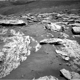Nasa's Mars rover Curiosity acquired this image using its Right Navigation Camera on Sol 2582, at drive 1590, site number 77