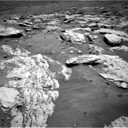 Nasa's Mars rover Curiosity acquired this image using its Right Navigation Camera on Sol 2582, at drive 1614, site number 77