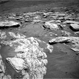 Nasa's Mars rover Curiosity acquired this image using its Right Navigation Camera on Sol 2582, at drive 1620, site number 77