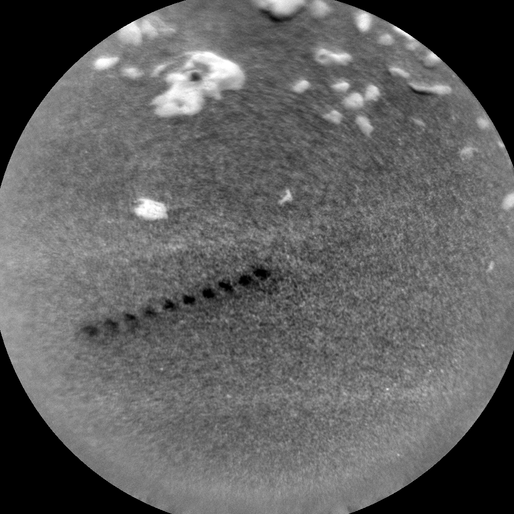 Nasa's Mars rover Curiosity acquired this image using its Chemistry & Camera (ChemCam) on Sol 2582, at drive 1560, site number 77