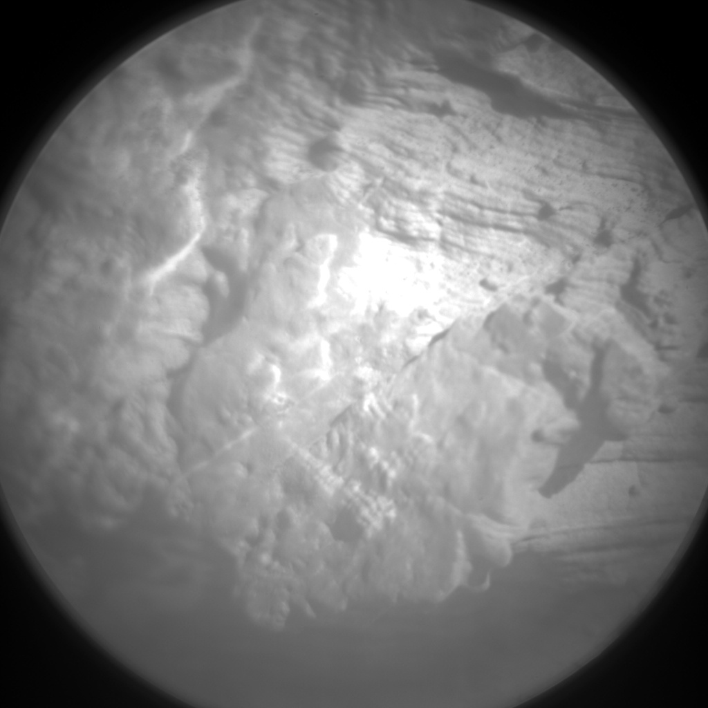 Nasa's Mars rover Curiosity acquired this image using its Chemistry & Camera (ChemCam) on Sol 2583, at drive 1626, site number 77