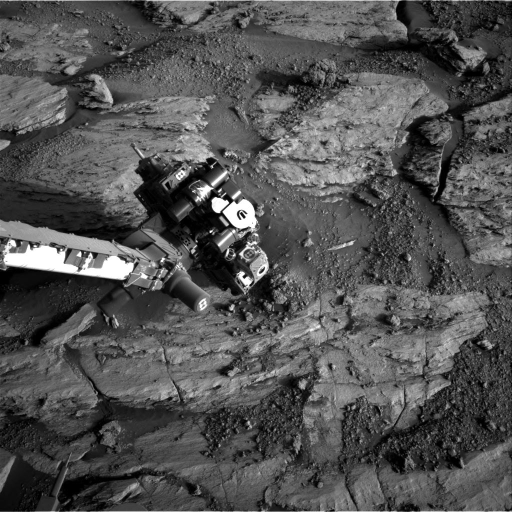 Nasa's Mars rover Curiosity acquired this image using its Right Navigation Camera on Sol 2583, at drive 1626, site number 77