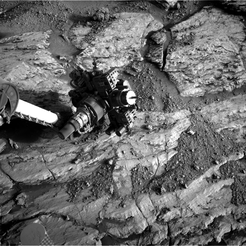 Nasa's Mars rover Curiosity acquired this image using its Right Navigation Camera on Sol 2585, at drive 1626, site number 77