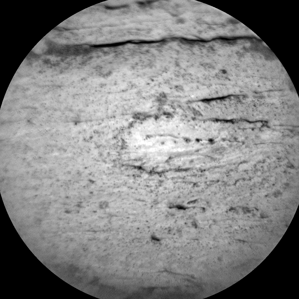 Nasa's Mars rover Curiosity acquired this image using its Chemistry & Camera (ChemCam) on Sol 2585, at drive 1626, site number 77