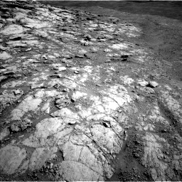 Nasa's Mars rover Curiosity acquired this image using its Left Navigation Camera on Sol 2586, at drive 1758, site number 77