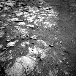 Nasa's Mars rover Curiosity acquired this image using its Left Navigation Camera on Sol 2586, at drive 1800, site number 77