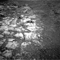 Nasa's Mars rover Curiosity acquired this image using its Left Navigation Camera on Sol 2586, at drive 1824, site number 77