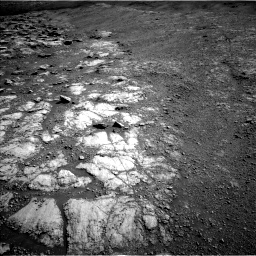 Nasa's Mars rover Curiosity acquired this image using its Left Navigation Camera on Sol 2586, at drive 1830, site number 77
