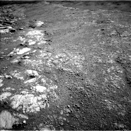 Nasa's Mars rover Curiosity acquired this image using its Left Navigation Camera on Sol 2586, at drive 1848, site number 77