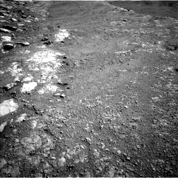 Nasa's Mars rover Curiosity acquired this image using its Left Navigation Camera on Sol 2586, at drive 1866, site number 77