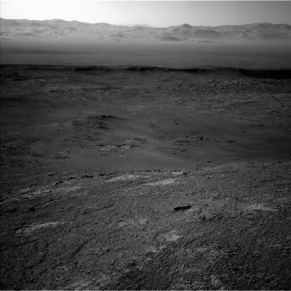 Nasa's Mars rover Curiosity acquired this image using its Left Navigation Camera on Sol 2586, at drive 1926, site number 77