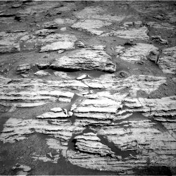 Nasa's Mars rover Curiosity acquired this image using its Right Navigation Camera on Sol 2586, at drive 1638, site number 77