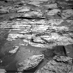 Nasa's Mars rover Curiosity acquired this image using its Right Navigation Camera on Sol 2586, at drive 1644, site number 77