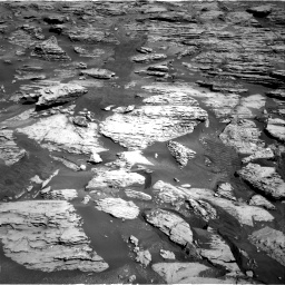 Nasa's Mars rover Curiosity acquired this image using its Right Navigation Camera on Sol 2586, at drive 1686, site number 77