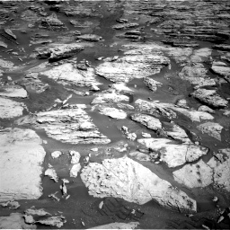 Nasa's Mars rover Curiosity acquired this image using its Right Navigation Camera on Sol 2586, at drive 1692, site number 77