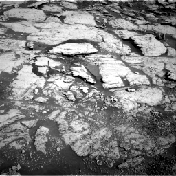 Nasa's Mars rover Curiosity acquired this image using its Right Navigation Camera on Sol 2586, at drive 1722, site number 77