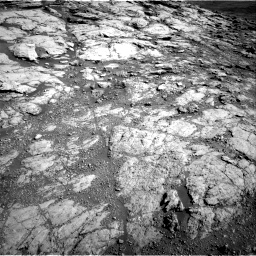 Nasa's Mars rover Curiosity acquired this image using its Right Navigation Camera on Sol 2586, at drive 1734, site number 77
