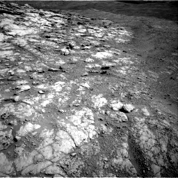 Nasa's Mars rover Curiosity acquired this image using its Right Navigation Camera on Sol 2586, at drive 1764, site number 77