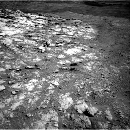 Nasa's Mars rover Curiosity acquired this image using its Right Navigation Camera on Sol 2586, at drive 1770, site number 77