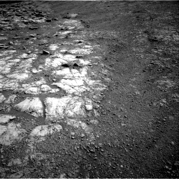 Nasa's Mars rover Curiosity acquired this image using its Right Navigation Camera on Sol 2586, at drive 1824, site number 77