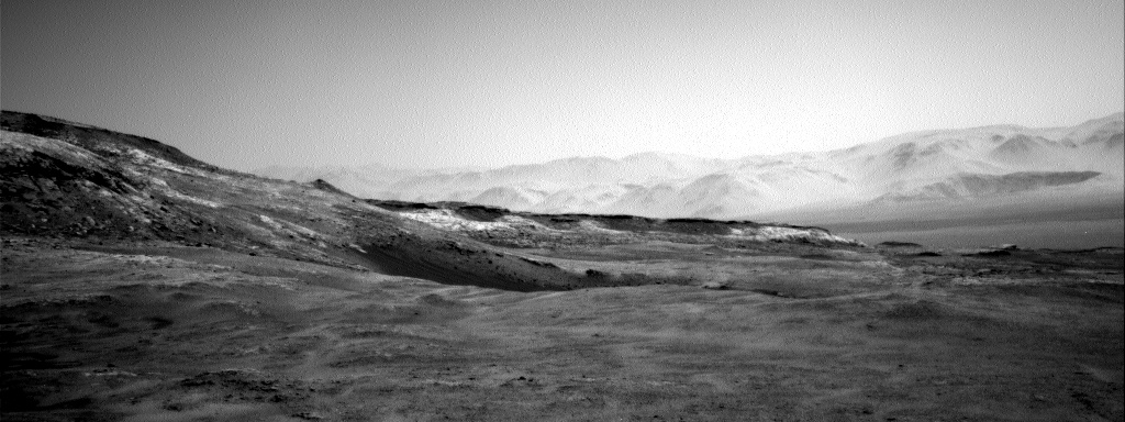 Nasa's Mars rover Curiosity acquired this image using its Right Navigation Camera on Sol 2587, at drive 1926, site number 77