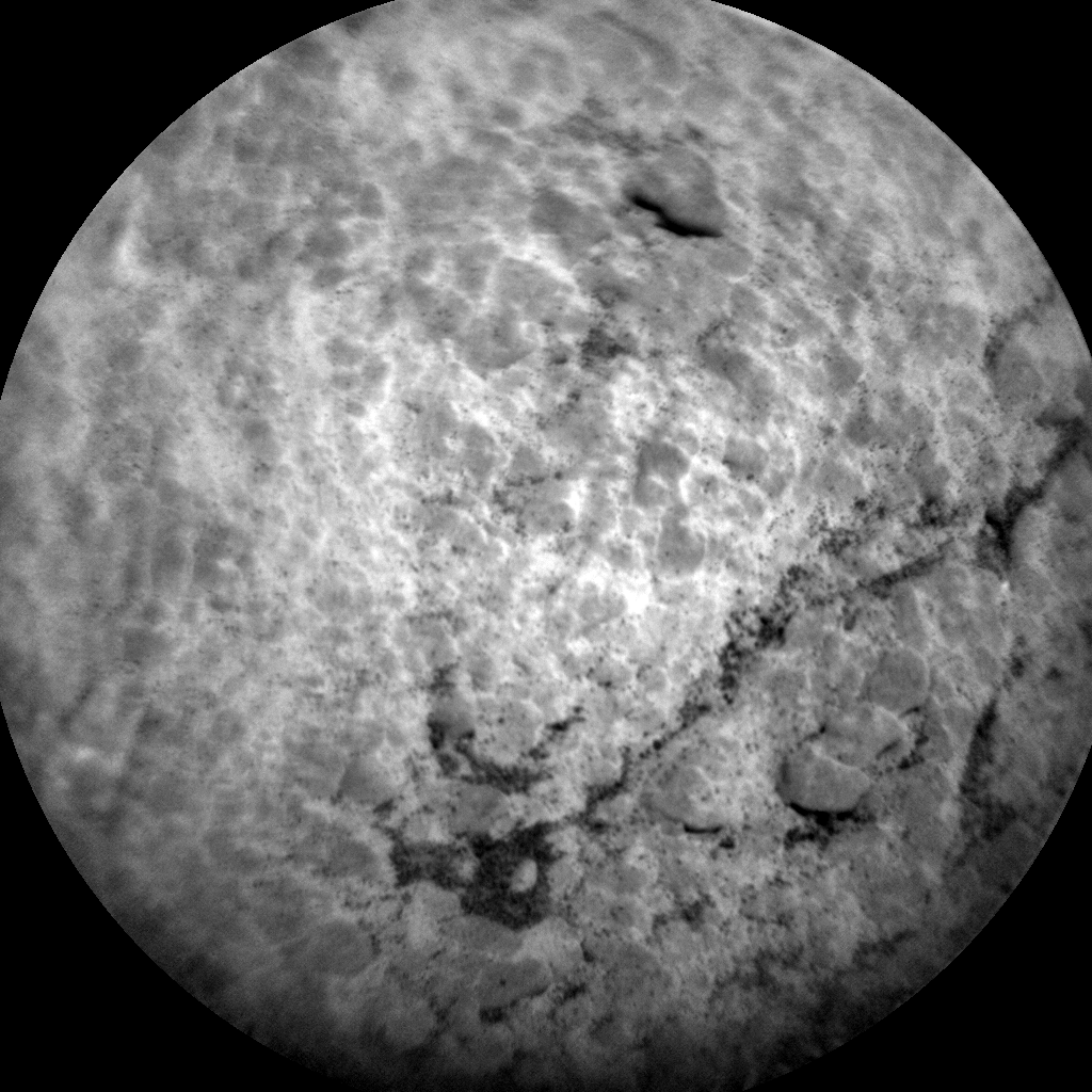 Nasa's Mars rover Curiosity acquired this image using its Chemistry & Camera (ChemCam) on Sol 2587, at drive 1926, site number 77