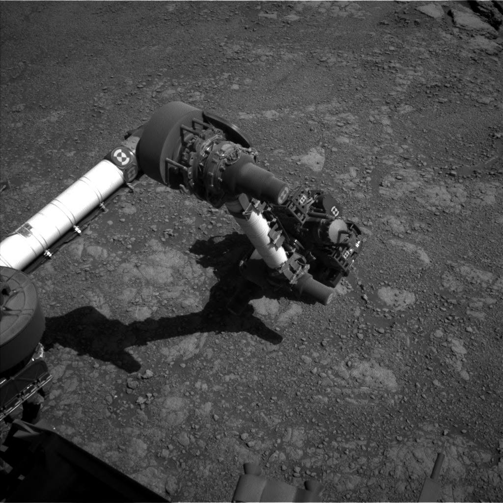 Nasa's Mars rover Curiosity acquired this image using its Left Navigation Camera on Sol 2588, at drive 1926, site number 77