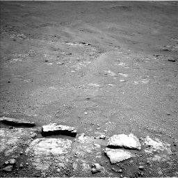 Nasa's Mars rover Curiosity acquired this image using its Left Navigation Camera on Sol 2589, at drive 1968, site number 77