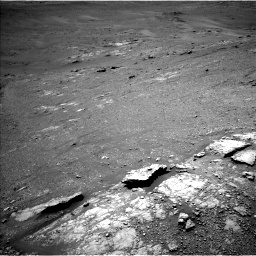 Nasa's Mars rover Curiosity acquired this image using its Left Navigation Camera on Sol 2589, at drive 1998, site number 77