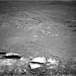 Nasa's Mars rover Curiosity acquired this image using its Right Navigation Camera on Sol 2589, at drive 1968, site number 77