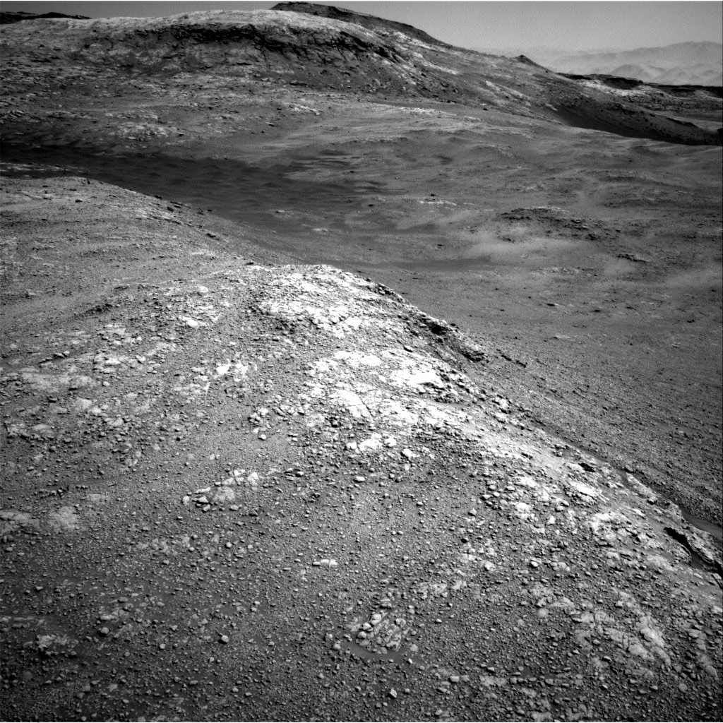 Nasa's Mars rover Curiosity acquired this image using its Right Navigation Camera on Sol 2589, at drive 1986, site number 77