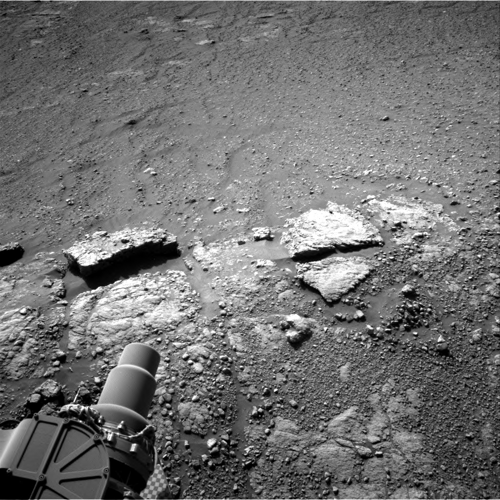 Nasa's Mars rover Curiosity acquired this image using its Right Navigation Camera on Sol 2589, at drive 2038, site number 77