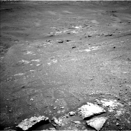 Nasa's Mars rover Curiosity acquired this image using its Left Navigation Camera on Sol 2590, at drive 2038, site number 77