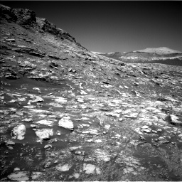 Nasa's Mars rover Curiosity acquired this image using its Left Navigation Camera on Sol 2590, at drive 2068, site number 77