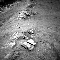 Nasa's Mars rover Curiosity acquired this image using its Left Navigation Camera on Sol 2590, at drive 2194, site number 77