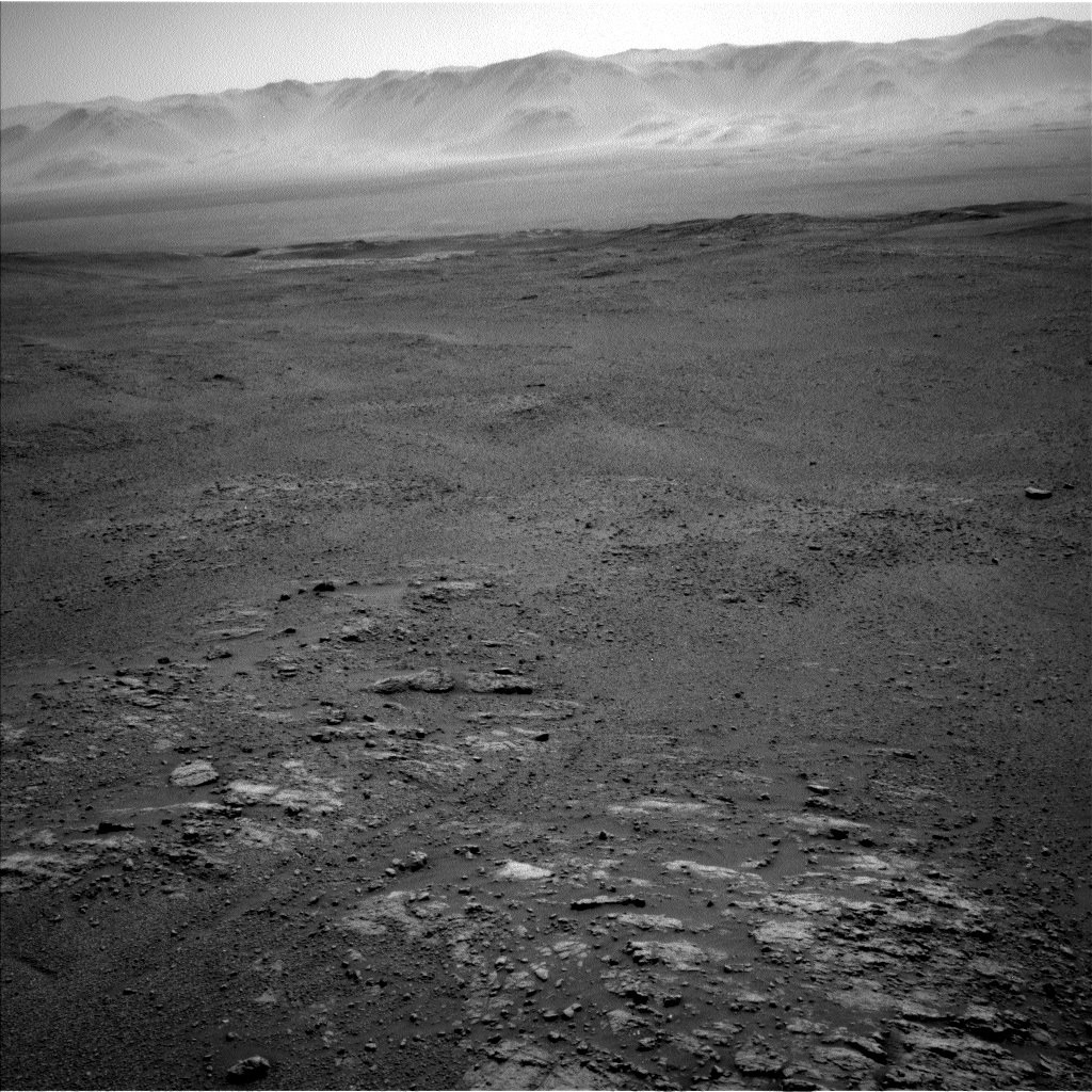 Nasa's Mars rover Curiosity acquired this image using its Left Navigation Camera on Sol 2590, at drive 2254, site number 77