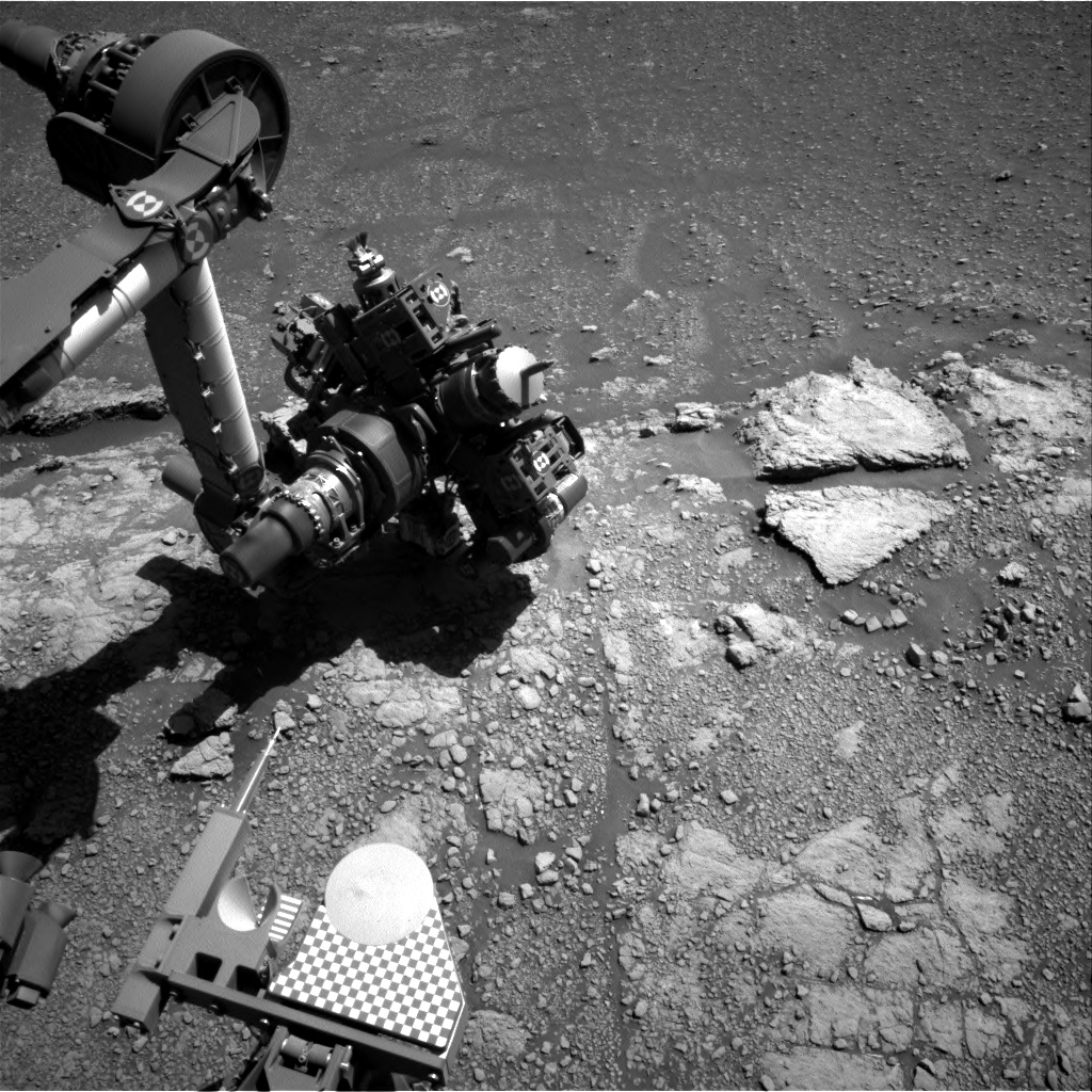 Nasa's Mars rover Curiosity acquired this image using its Right Navigation Camera on Sol 2590, at drive 2038, site number 77