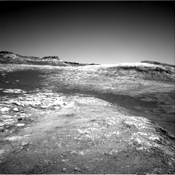 Nasa's Mars rover Curiosity acquired this image using its Right Navigation Camera on Sol 2590, at drive 2050, site number 77