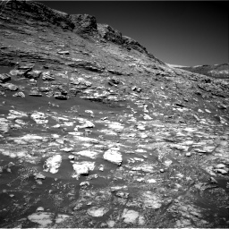 Nasa's Mars rover Curiosity acquired this image using its Right Navigation Camera on Sol 2590, at drive 2074, site number 77