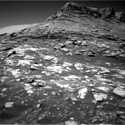 Nasa's Mars rover Curiosity acquired this image using its Right Navigation Camera on Sol 2590, at drive 2086, site number 77