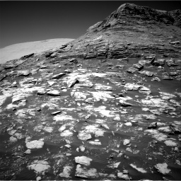 Nasa's Mars rover Curiosity acquired this image using its Right Navigation Camera on Sol 2590, at drive 2104, site number 77