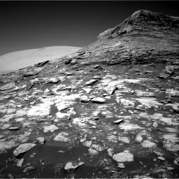 Nasa's Mars rover Curiosity acquired this image using its Right Navigation Camera on Sol 2590, at drive 2116, site number 77
