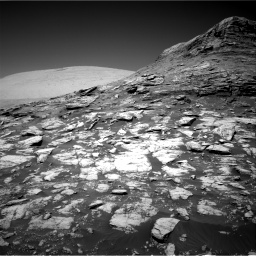 Nasa's Mars rover Curiosity acquired this image using its Right Navigation Camera on Sol 2590, at drive 2128, site number 77