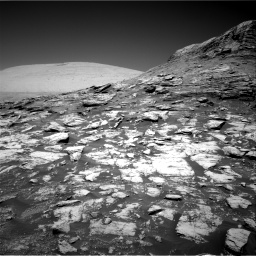Nasa's Mars rover Curiosity acquired this image using its Right Navigation Camera on Sol 2590, at drive 2134, site number 77