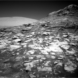 Nasa's Mars rover Curiosity acquired this image using its Right Navigation Camera on Sol 2590, at drive 2140, site number 77