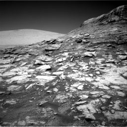 Nasa's Mars rover Curiosity acquired this image using its Right Navigation Camera on Sol 2590, at drive 2146, site number 77