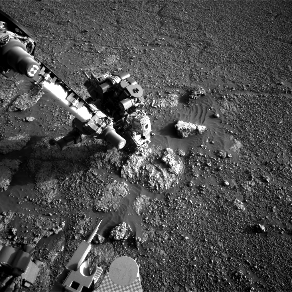 Nasa's Mars rover Curiosity acquired this image using its Right Navigation Camera on Sol 2591, at drive 2254, site number 77